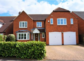 Thumbnail 5 bed detached house for sale in Bars Hill, Costock, Loughborough