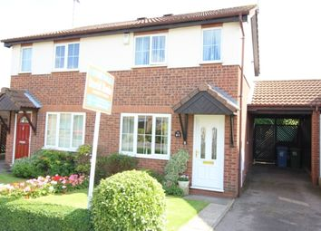 Thumbnail 2 bed semi-detached house for sale in Briar Lea, Worksop