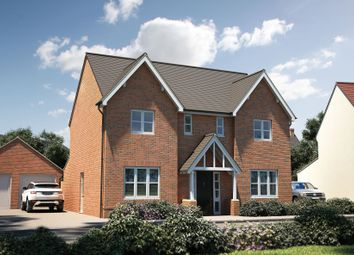 "Thumbnail 4 bed detached house for sale in ""The Thornsett"" at Muggleton Road, Amesbury, Salisbury"