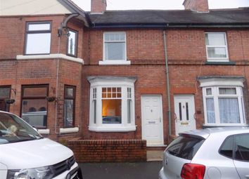Thumbnail 3 bed terraced house to rent in Portland Street, Leek, Staffordshire