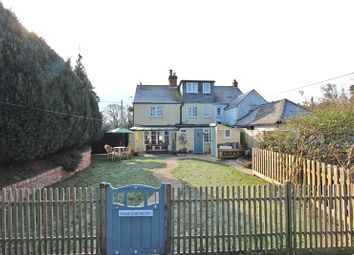 Thumbnail 3 bed semi-detached house for sale in Sway Road, Pennington, Lymington