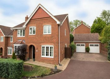 Thumbnail 4 bed detached house for sale in Hawkley Way, Fleet
