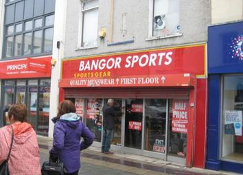 Thumbnail Retail premises to let in 218 High Street, Bangor