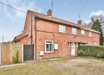 Thumbnail 3 bed semi-detached house for sale in Park Estate, Shipdham, Thetford