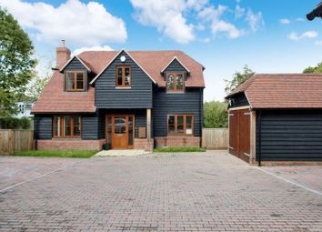 Thumbnail 3 bed detached house for sale in South Downs Close, Swanmore, Southampton