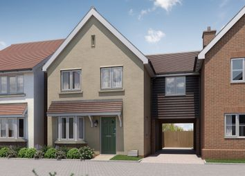 Thumbnail 3 bed link-detached house for sale in London Road, Great Notley, Braintree
