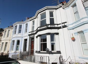 Thumbnail 2 bed flat to rent in Radford Road, West Hoe, Plymouth