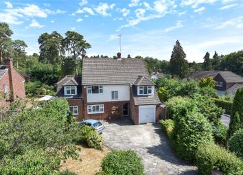 Thumbnail 4 bed detached house for sale in Elsenwood Crescent, Camberley, Surrey