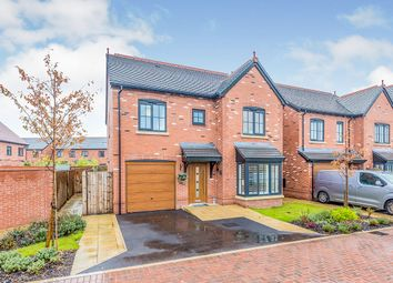 Thumbnail 4 bed detached house for sale in Holly Close, Holmes Chapel, Crewe, Cheshire