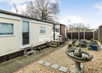 Thumbnail 2 bed mobile/park home for sale in Sunset Drive, Havering-Atte-Bower, Romford