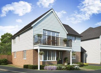 "Thumbnail 4 bed detached house for sale in ""Lincoln III"" at Dymchurch Road, Hythe"