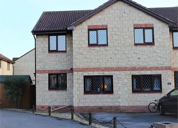 Thumbnail 3 bed semi-detached house for sale in Warrilow Close, Worle, Weston-Super-Mare, North Somerset.