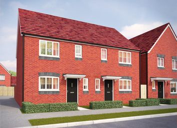 Thumbnail 3 bed semi-detached house for sale in Sommerfeld Road, Hadley, Telford