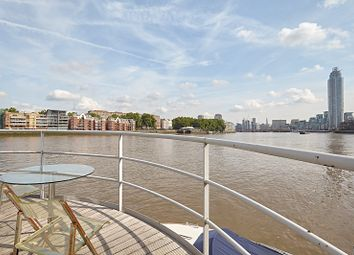 Thumbnail 1 bed houseboat to rent in Tideway Walk, Kirtling Street, London