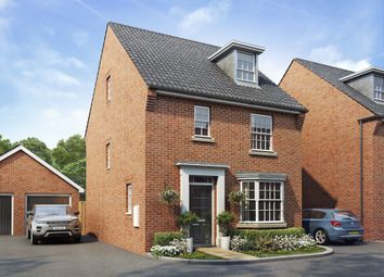 "Thumbnail 4 bed detached house for sale in ""Bayswater"" at Trowbridge Road, Westbury"