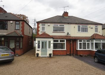 Thumbnail 3 bed semi-detached house for sale in Bennetts Road North, Corley, Coventry