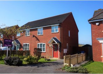 Thumbnail 3 bed semi-detached house for sale in Crystal Close, Derby