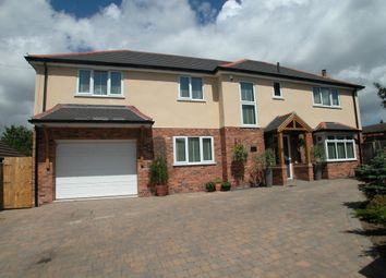 Thumbnail 4 bed detached house for sale in Marshlands Road, Little Neston, Neston