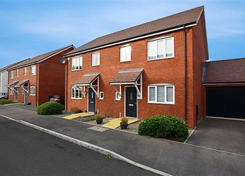 Thumbnail 3 bed semi-detached house for sale in Messenger Way, Cheltenham, Gloucestershire