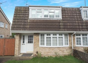 Thumbnail 3 bed semi-detached house to rent in Richborough Close, Earley, Reading