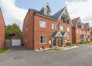 Thumbnail 4 bed semi-detached house for sale in Banson Mews, High Street, Ongar