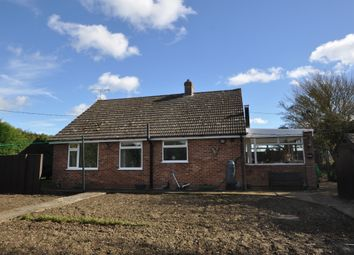 3 bed detached bungalow for sale in Creeting Bottoms, Creeting St. Mary, Ipswich IP6