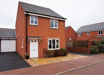 Thumbnail 3 bed detached house for sale in Meakin Drive, Swadlincote