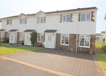 Thumbnail 3 bed end terrace house for sale in Fox Hollows, Brackla, Bridgend.