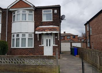 Thumbnail 3 bed semi-detached house to rent in Hemmons Road, Manchester, Greater Manchester