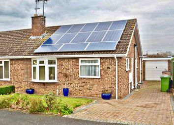 Thumbnail 2 bed semi-detached bungalow for sale in Drysdale Close, Wickhamford, Evesham