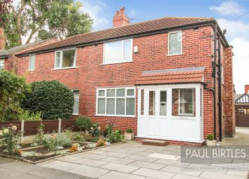 Thumbnail 3 bed semi-detached house for sale in Trevor Road, Flixton, Manchester