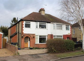 Thumbnail 3 bed semi-detached house for sale in Langham Road, Cambridge