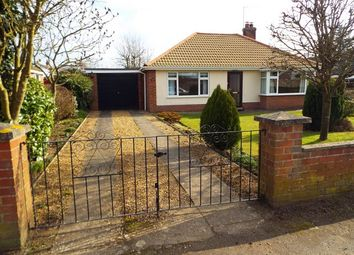Thumbnail 2 bed detached bungalow for sale in Eastfields, Narborough, King's Lynn