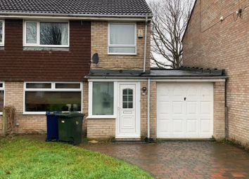 Thumbnail 3 bed semi-detached house to rent in Faversham Court, Newcastle Upon Tyne
