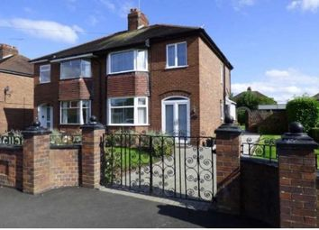 Thumbnail 3 bed semi-detached house to rent in Wistaston Avenue, Crewe