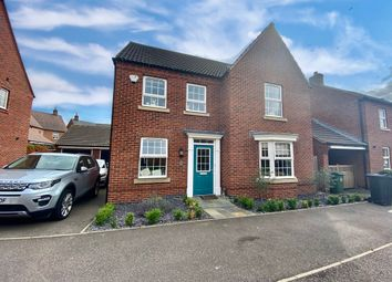4 bed detached house for sale in Raynesford Close, Quorn, Leicester LE12