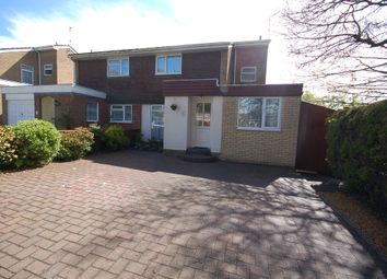 Thumbnail 3 bed semi-detached house for sale in Canterbury Way, Thetford