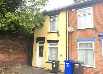 Thumbnail 2 bedroom end terrace house for sale in Ashley Street, Ipswich