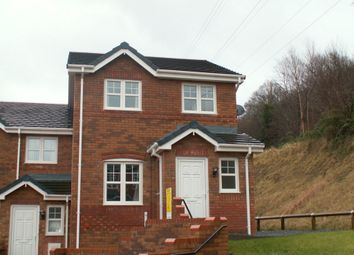 Thumbnail 3 bed end terrace house to rent in The Fairways, Aberdare
