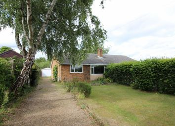 Thumbnail 2 bed bungalow for sale in The Footpath, Poringland, Norwich