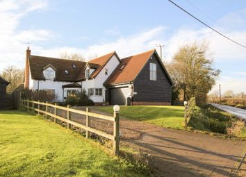 Thumbnail 4 bed detached house for sale in School Road, Whepstead, Bury St Edmunds