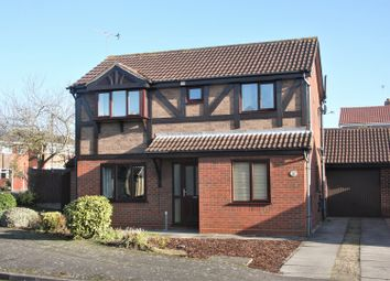 Thumbnail 4 bed detached house for sale in St. Davids Crescent, Scunthorpe
