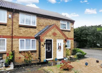 Thumbnail 2 bed terraced house for sale in Highfields Close, Dunstable