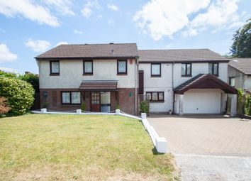 Thumbnail 5 bed detached house for sale in Copper Beech Way, Woolwell, Plymouth