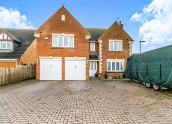 Thumbnail 5 bed detached house for sale in Meadow Sweet Road, Rushden