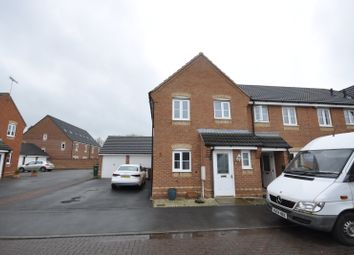 Thumbnail 3 bed town house to rent in Eden Close, Hilton, Derby
