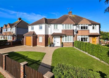 Thumbnail 4 bed semi-detached house for sale in Canada Road, Cobham, Surrey