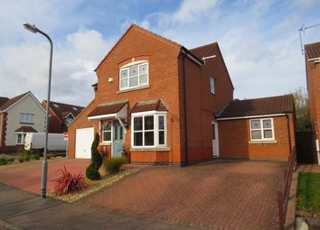 Thumbnail 4 bedroom detached house for sale in Militia Close, Wootton, Northampton