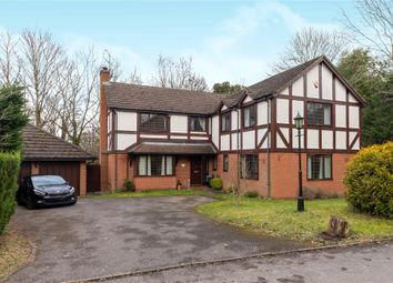 Thumbnail 5 bed detached house for sale in Campbell Close, Yateley, Hampshire