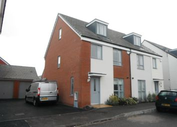 Thumbnail 3 bed town house to rent in Long Down Avenue, Cheswick Village, Bristol